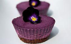 Raw Vegan Blueberry Cardamom Cheesecake