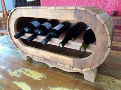 Wooden Wine Holder, Aquaponics, Storage, Man Caves, Wine Racks, Furniture, Nova, Bar, Home Decor