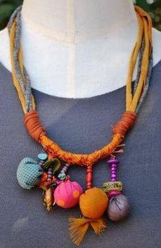 1376467_706561606038993_417487226_n.jpg (291×448)(Diy Necklace Fabric)
