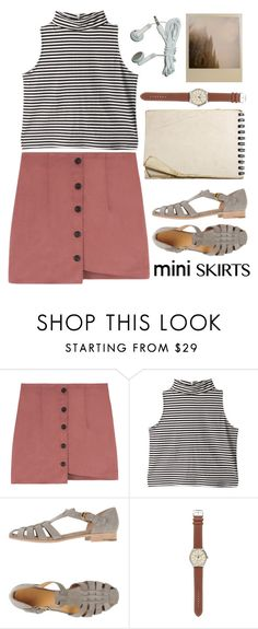 """""""Mini skirt contest. Check out latest post!!"""" by majocook ❤ liked on Polyvore featuring Church's and J.Crew"""