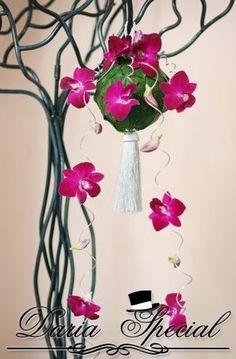 Orhidee fuchsia suspendate 2