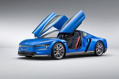 The Volkswagen XL Sport does not include an electric motor but instead features the world's most powerful two-cylinder engine.