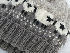 Baa-ble Knit Hat via Ravelry Doll Patterns, Knitting Patterns, Doll Toys, Dolls, Fair Isle Pattern, Knitting For Kids, Colour Schemes, Mittens, Babys