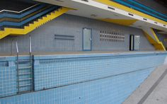 Bezirksbad - swimmingpool - sixties - pool - empty - architecture - http://transform-mag.com/ps/bezirksbad#id=2050