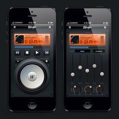 Woofer on App Design Served