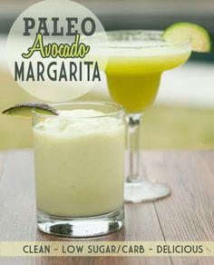 Paleo Avocado Margarita