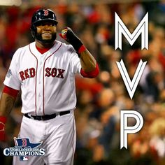 2013 World Series MVP Big Papi!!!