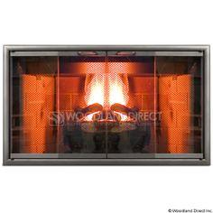 2932b3f2de36 Aluminum Zero Clearance Fireplace Doors - The Fireplace Door Experts