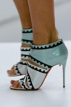 *.* Mary Katrantzou Spring 2012. Shoes