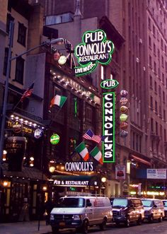connolly's pub, new york city