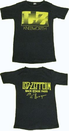 Uber rare Led Zep backstage pass t-shirt sells for $10,000. The highest fetching eBay auction for a vintage t-shirt.