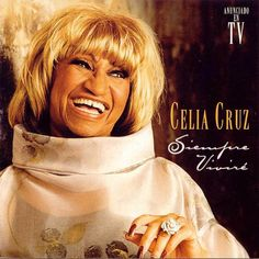Celia Cruz - La Guarachera de Cuba Born in Matanzas, so was my dad. She also sang Moon Over Matanzas. Cover Art, Famous Hispanics, Immigrant Song, Spanish Music, Grammy Nominees, Flo Rida, Music Covers, Album Covers, Female Singers