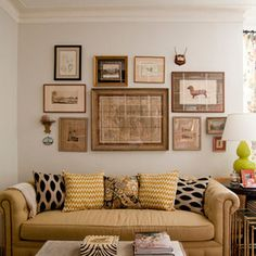 Eclectic Living Room by Lauren Gries