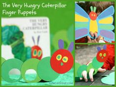 "The story ""The very hungry caterpillar""."