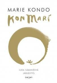 Japanilaisen siivousgurun Marie Kondon KonMari - Siivouksen elämänmullistava taika on vaikuttanut koteihin ympäri maailman. Uudessa kuvitetussa kirjassaan Iloa säkenöivä järjestys Kondo tarjoilee uusia ohjeita kodin järjestyksen ylläpitoon. Kirja sisältää vaihe-vaiheelta eteneviä ohjeita mm. paitojen ja sukkien laskostamiseen ja piirroksia täydellisesti järjestetyistä laatikostoista ja kaapeista. Ohjeet on jaettu eri kategorioihin, kuten keittiövälineet, puhdistustarvikkeet…