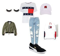 """""""style #2"""" by styler90 on Polyvore featuring mode, Tommy Hilfiger, Hollister Co., Topshop, Puma en Armitage Avenue"""