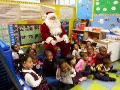 Santa had a great time at Kidz World Springfield Gardens, Queens NYC
