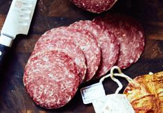 Homemade Milano Salami - Adam Marianski's recipe, basically the same as Genoa salami. If you are learning how to make salami, this is a good recipe to try.