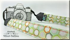 Kameraband / Kameragurt von Blinni-Fashion auf DaWanda.com Camera strap