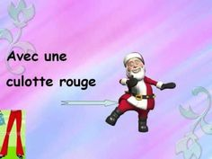 French song video with lyrics, craft and song booklet for students to finish - Père Noël getting dressed (quand le père noël vient me visiter).