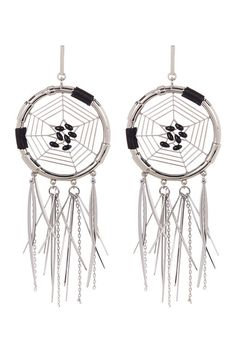 Image of Rebecca Minkoff Large Dream Catcher Earrings