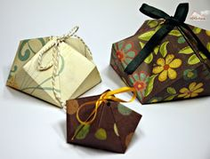 Facetten-Origami-Box