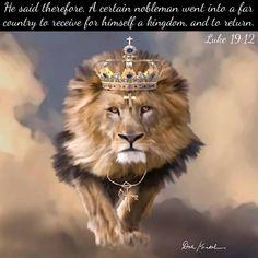 """Lion of Judah the King of Kings - Revelation by Dalekunkel , King Painting, Jesus Painting, King Of Kings, My King, Religion, Lion Of Judah, Praise The Lords, African American History, God"