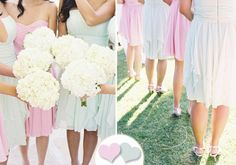 New Summer Bridesmaid Dress Fun: Pretty Pastels