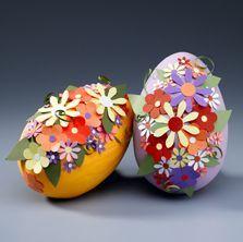Floral Eggs: