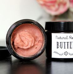 Looking for a vegan friendly moisturizer DIY? This rose body butter recipe fits the bill! Made with only natural ingredients, this rose body butter nourishes skin without leaving it feeling greasy. Oily Skin Care, Healthy Skin Care, Skin Care Regimen, Anti Aging Skin Care, Dry Skin, Homemade Moisturizer, Homemade Skin Care, Homemade Beauty, Homemade Facials