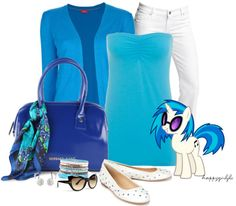 """MY LITTLE PONY INSPIRED"" by happygirljlc ❤ liked on Polyvore"