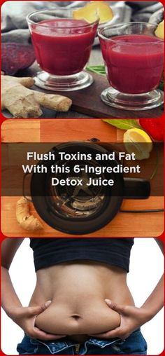 FLUSH TOXINS AND FAT WITH THIS 6-INGREDIENT DETOX JUICE-With this, the liver finds it hard to maintain a good health and could suffer significant damage. If you go to your doctor, she will say that the life is one of the most important organs in your bo…