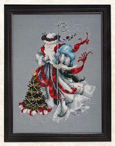 Xmas - Wichelt Imports Inc. » Mirabilia Designs » Winter White Santa