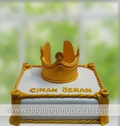 kral tacı pastası #king #kral #kraltaci #Crownofaking
