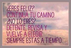 ¿Ers feliz?