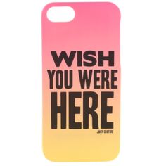 Juicy Couture Wish You Were Here iPhone 5/5s Case JCYTRUT547 | DesignerImports.com