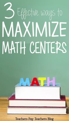 Math centers can be overwhelming. Use these organization tips and math center ideas to make them a breeze!