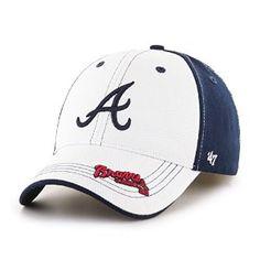 Amazon.com : MLB Atlanta Braves Revolution MVP Adjustable Hat, Kids, Navy : Sports & Outdoors