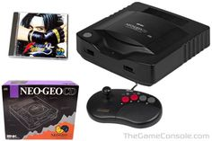 SNK NEO-GEO CD - This is one console I would dearly ♥ to own #neogeo
