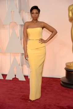 Jennifer Hudson attends the 87th Annual Academy Awards at Hollywood & Highland Center on February 22, 2015