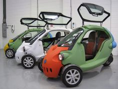 Electric Motor Scooters, Electric Tricycle, Small Motorcycles, Concept Motorcycles, Small Electric Cars, Eletric Bike, Reverse Trike, Truck Mods, City Car