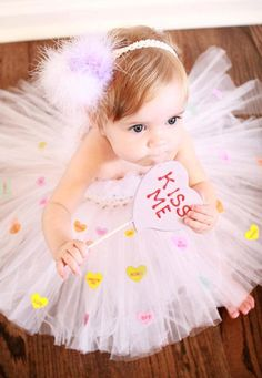 tutu dress…love the hearts on tutu