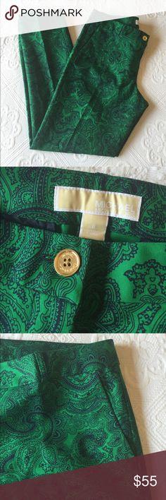 MICHAEL Michael Kors - Paisley Print Ankle Pants MICHAEL Michael Kors - Paisley Print Ankle Pants MICHAEL Michael Kors Pants Ankle & Cropped