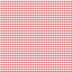 Small Red Gingham fabric by petitspixels on Spoonflower - custom fabric
