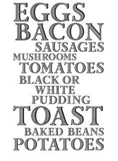 The Full English Bacon Sausage, Bacon Egg, England And Scotland, Baked Beans, British Isles, Ireland, Stuffed Mushrooms, English, Activities