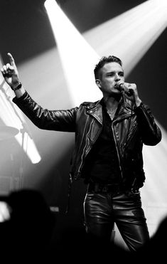 One of my favorite people is Brandon Flowers the lead singer for The Killers.