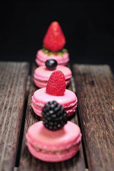 Macarons #macaroons #pink