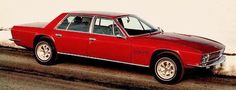 """carsthatnevermadeit: """"Monteverdi High Speed 375/4, 1970. A Chrysler V8-powered luxury saloon designed and built by Carrozzeria Fissore for Swiss company Monteverdi who carried out final assembly in..."""