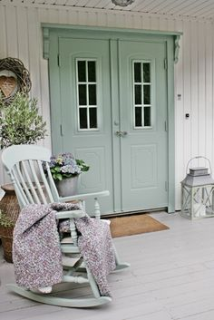 Front Porch Colors - VIBEKE DESIGN: Årskavalkade Del 2