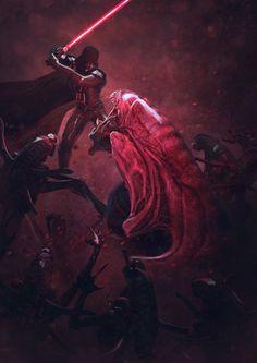 Darth Vader  Star Wars art ...Klaatu Barada Nikto